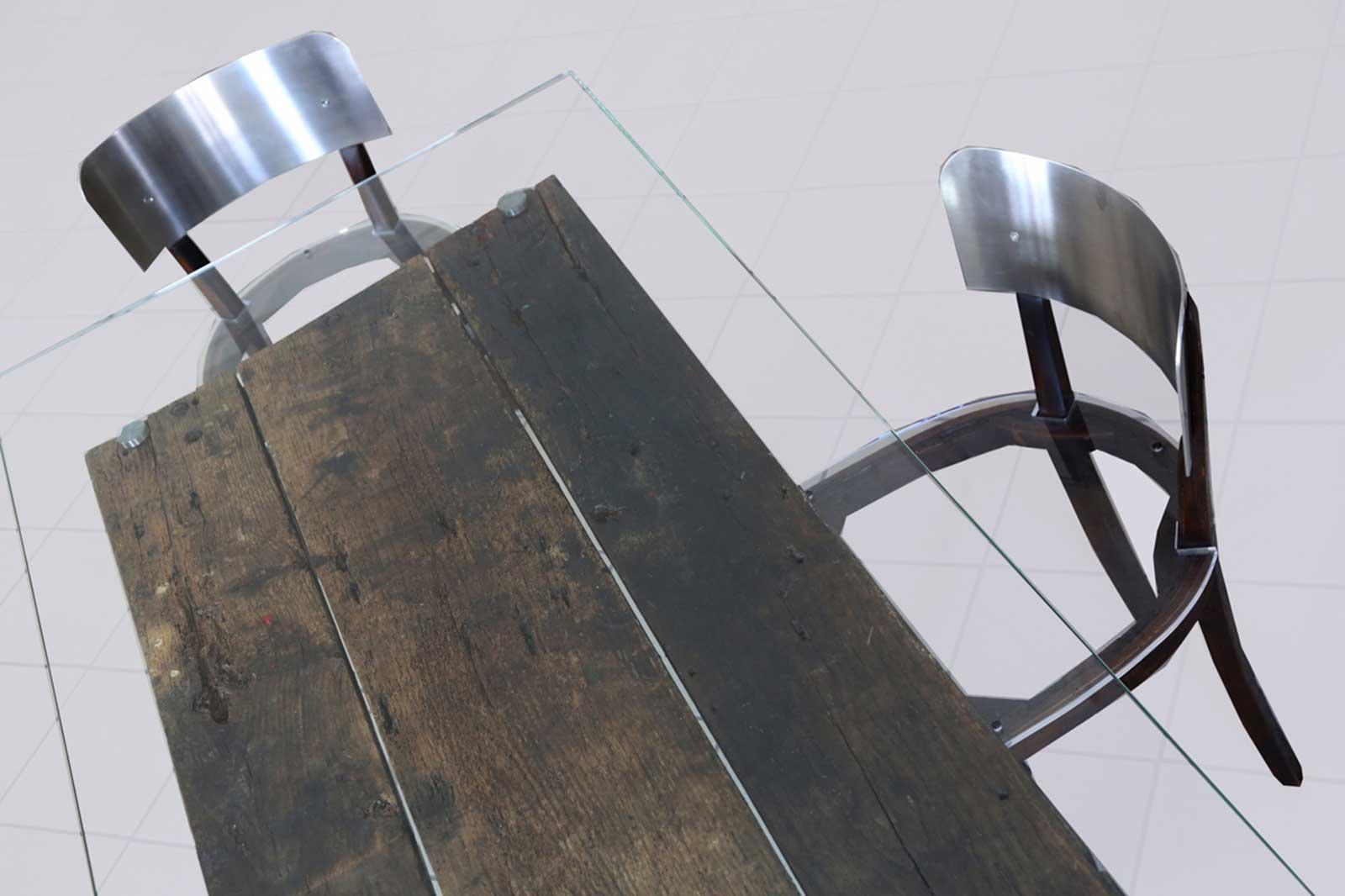 Tavolo 3 Mat - Poligoni - Interior design made in Italy